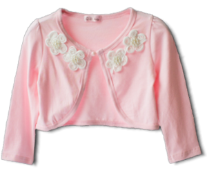 Βρεφικό παιδικό μπολερό ροζ