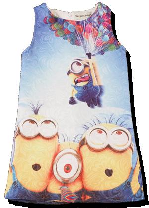 Παιδικό φόρεμα Μίνιον