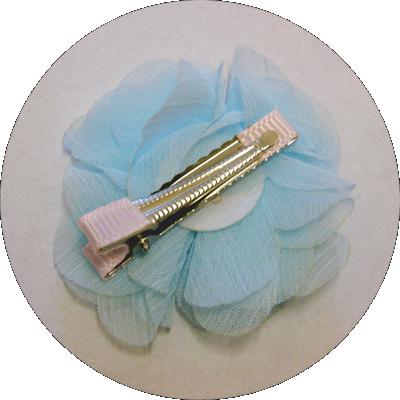Βρεφικό κλιπ για τα μαλλιά γαλάζιο