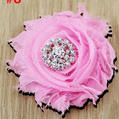 Βρεφικό παιδικό κλιπ μαλλιών ροζ