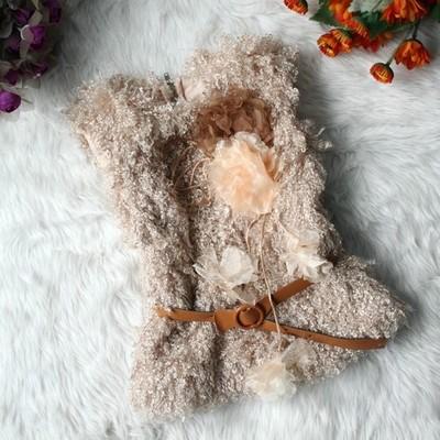 Βρεφικό παιδικό γούνινο γιλέκο