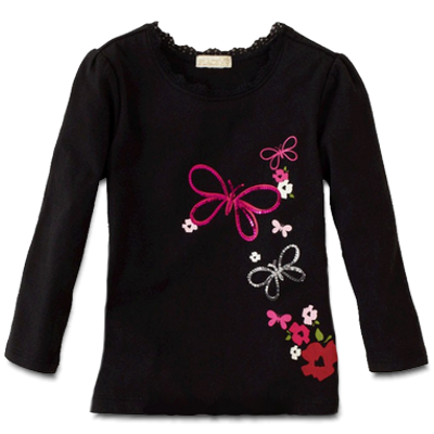 Βρεφικό παιδικό μπλουζάκι Πεταλούδες