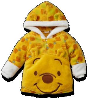 Βρεφικό παιδικό φούτερ φλις Γουίνι το αρκουδάκι