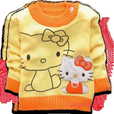 Βρεφικό πλεκτό πουλόβερ Kitty