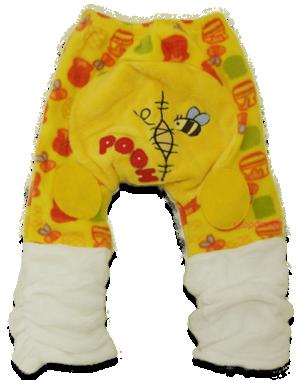 Βρεφικό παντελόνι φλις Γούινι το αρκουδάκι