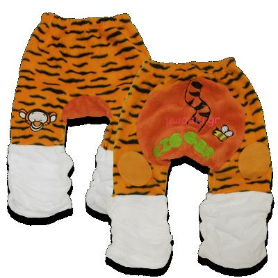Βρεφικό παντελόνι φλις Τιγράκι