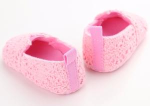 Βρεφικές μπαρέτες ροζ δαντέλα