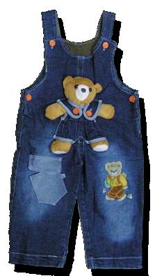Βρεφική σαλοπέτα με αρκουδάκι