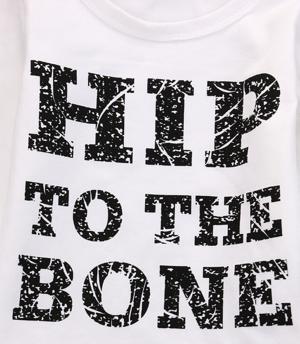 Βρεφικό παιδικό σετ Hip to the bone