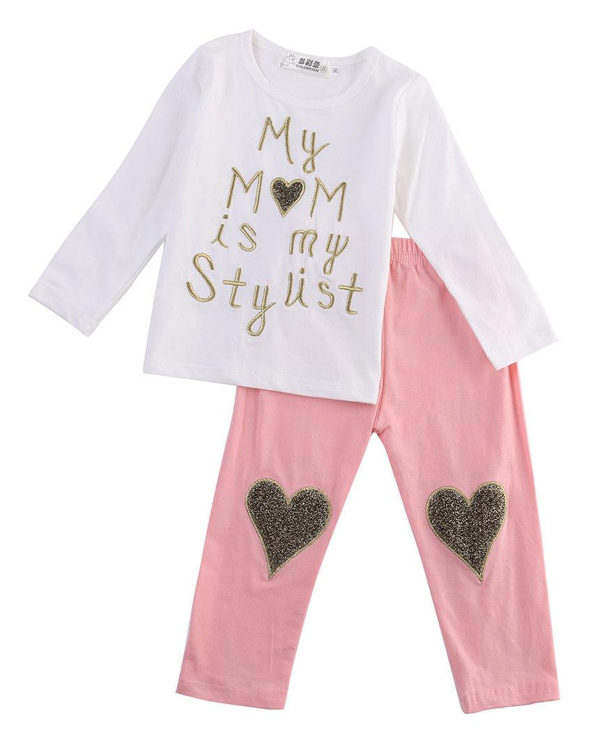 Βρεφικό παιδικό σετ ροζ λευκό