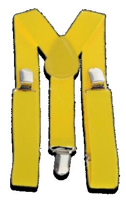 Βρεφικές παιδικές τιράντες κίτρινες