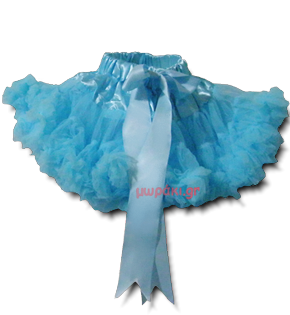 Βρεφική παιδική φούστα τουτού τυρκουάζ