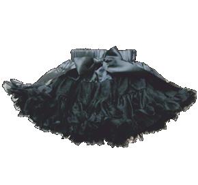 Βρεφική φούστα τουτού μαύρη