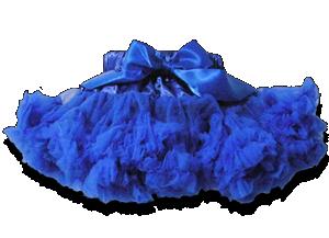 Βρεφική φούστα τουτού μπλε
