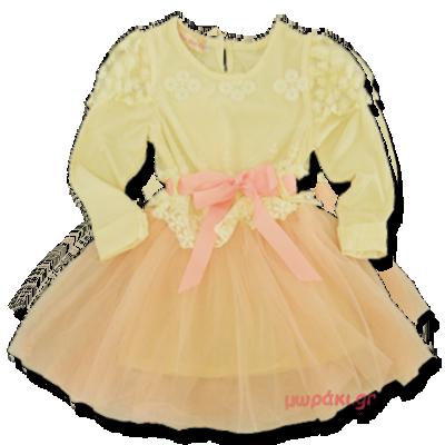 Βρεφικό παιδικό φόρεμα σαμπανί