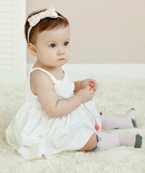 Βρεφικά παιδικά Ροζ καλτσάκια με σχέδιο γατούλες