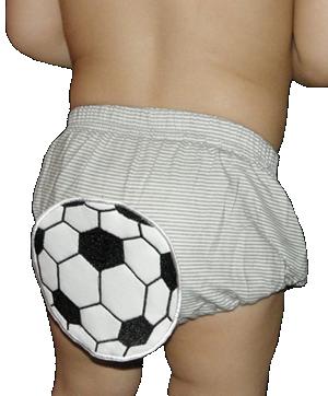 Βρεφικό κάλυμμα πάνας γκρι λευκό ριγέ μπαλαδόρος