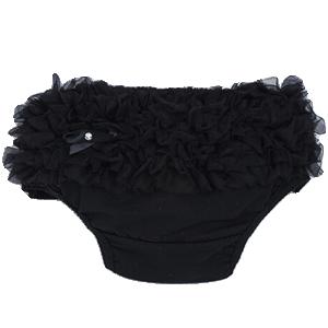 Βρεφικό κάλυμμα πάνας μαύρο