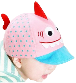 Καπέλο ροζ ψαράκι