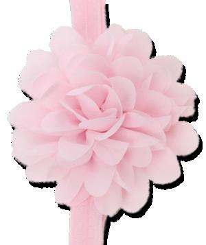 Βρεφική κορδέλα μαλλιών ροζ του μωρού