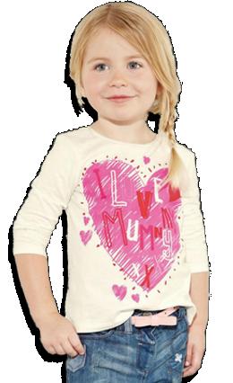 Βρεφικό παιδικό μπλουζάκι λευκό ροζ