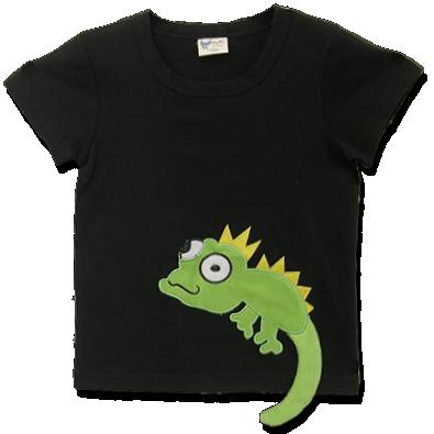 Βρεφικό παιδικό μπλουζάκι μαύρο