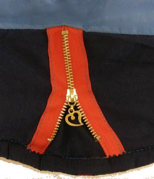Βρεφικό παιδικό μπουφάν γαλάζιο με κουκούλα