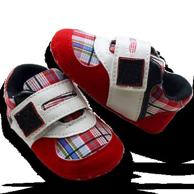 Βρεφικά παπούτσια αγκαλιάς κόκκινα