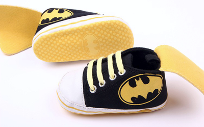 Βρεφικά παπούτσια αγκαλιάς Μπάτμαν