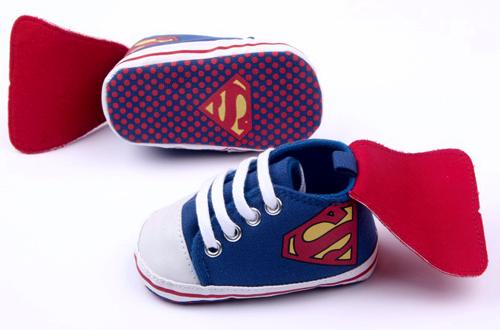 Βρεφικά παπούτσια αγκαλιάς Σούπερμαν