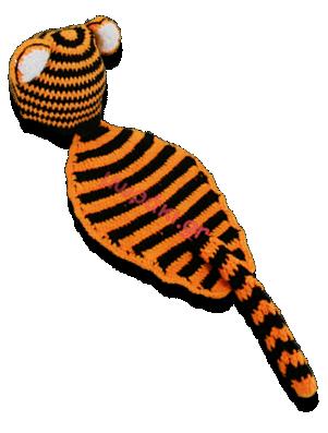 Βρεφικό πλεκτό φωτογράφισης Τιγράκι