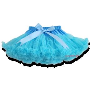 Βρεφική παιδική φούστα τουτού τυρκουάζ frozen